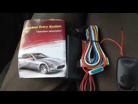 Car Keyless Entry System (Components, Manual, Partial Test)