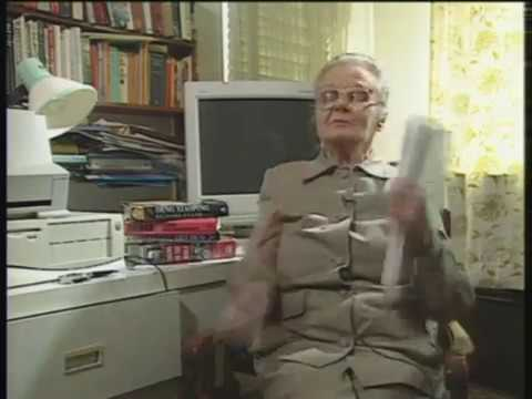 Interview Clare Hollingworth  British War Correspondent Daily Telegraph World War Two China
