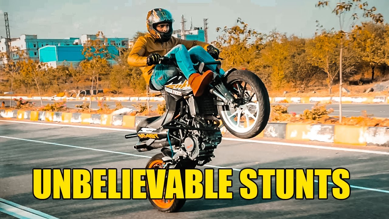 Unbelievable Stunts and Bike Review