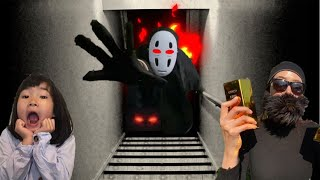 지하실에 유령이 있다고? 공포의 지하실유령 가오나시와 도둑! 가오나시 유령의 정체는? 지하실귀신 가오나시 벽장귀신 basement ghost l haunted house movie