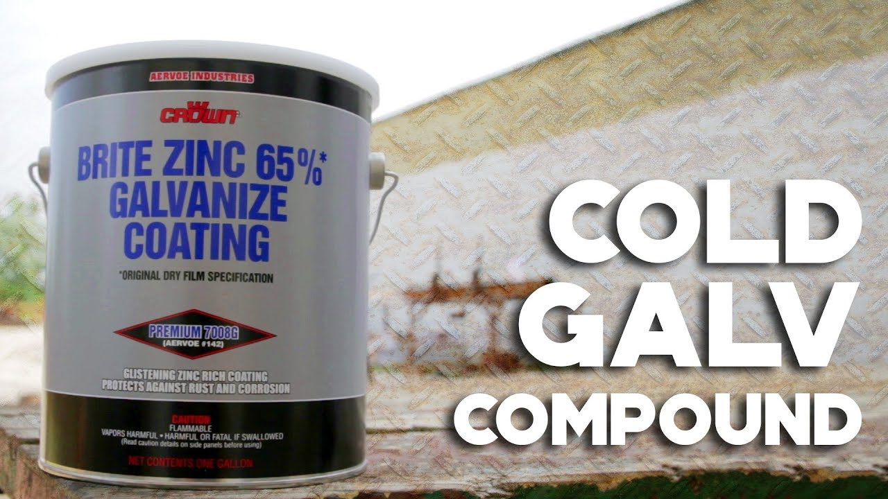 Cold Galvanizing Compound - Columbia Safety and Supply