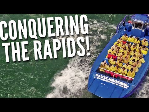 JET BOATING the Lachine Rapids in Montreal - DAY #11