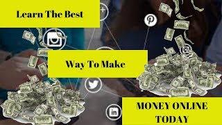 Learn how to make money online ( new program alert)