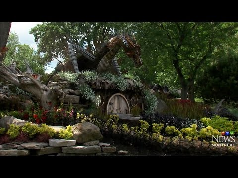 Hobbit-themed Garden Featuring Smaug Talk Of Town In Dorval, Quebec