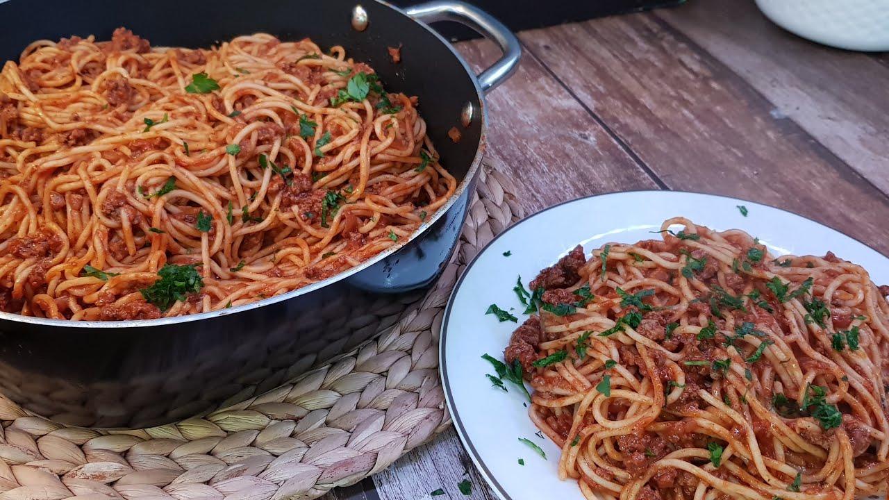 وصفة اسباغتي شهية على الطريقة التقليدية