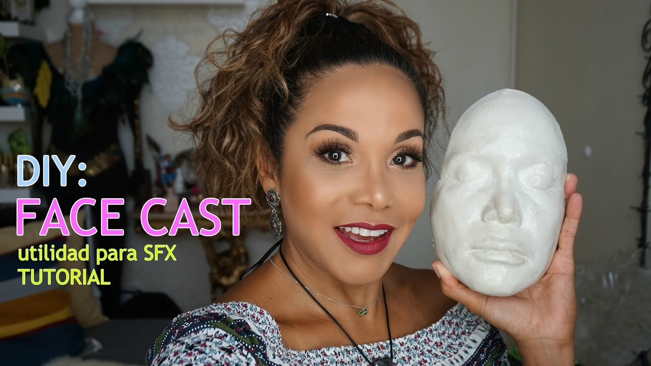 how to make a cast of your face