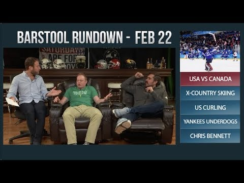 Barstool Rundown - February 22, 2018
