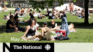The National for Sunday, May 24 — COVID-19 lockdown fatigue; Class of 2020