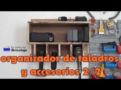 C mo hacer un organizador de taladros y sus accesorios 2 - Hacer bricolaje en casa ...