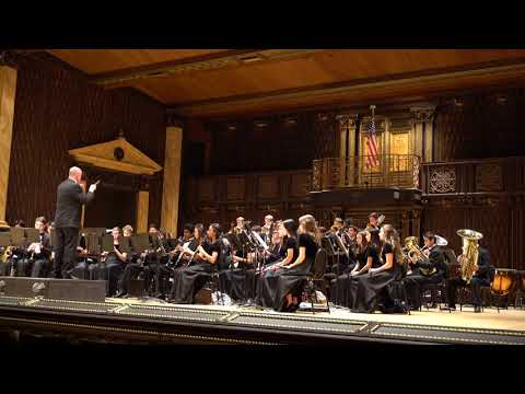 The Circus King by CE Duble - Round Rock Dragon Band Wind Ensemble - Festival Hill