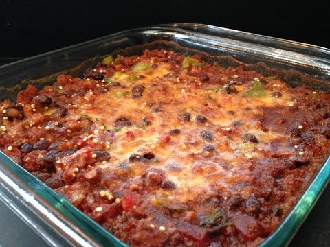 Healthy Taco Casserole Recipe – HASfit Healthy Mexican Recipes