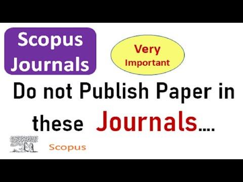 Scopus Journals Verification in an Easy Way #scopusnewlistsep2020