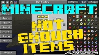 Minecraft 1.6.4   Instalacion de Mods   NOT ENOUGH ITEMS