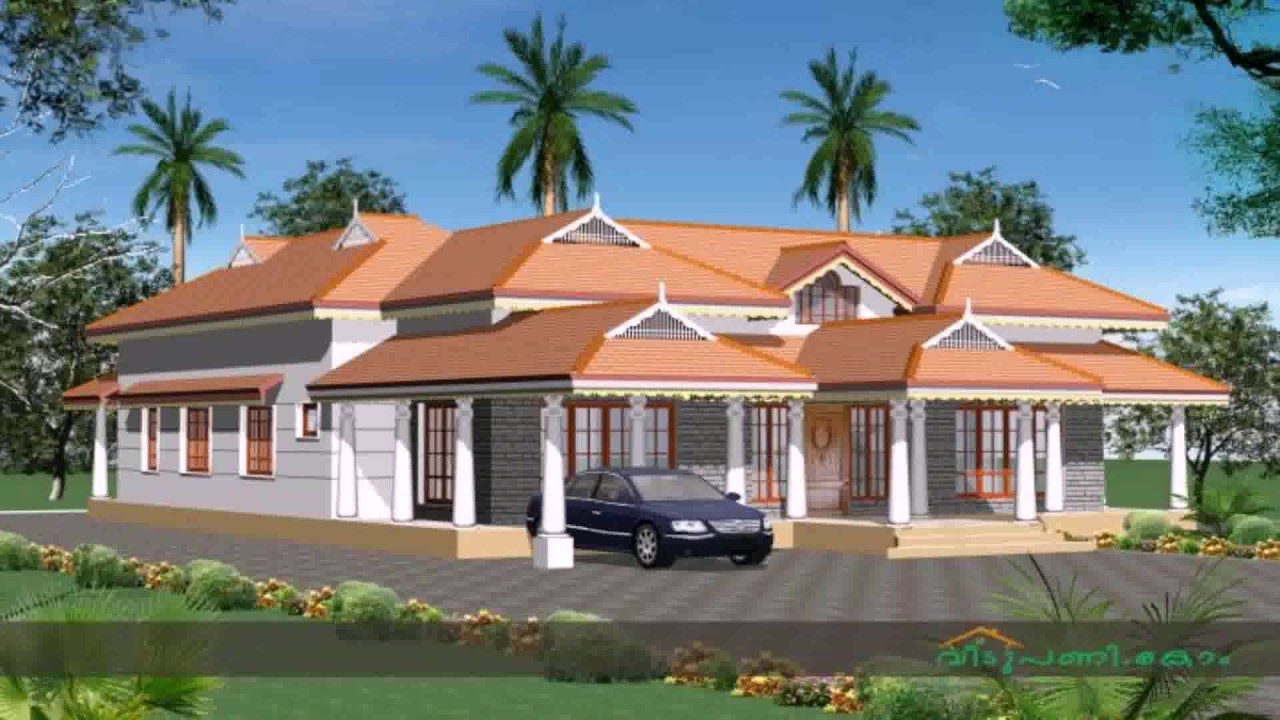 Traditional kerala style nalukettu house plans youtube for Colonial style home design in kerala