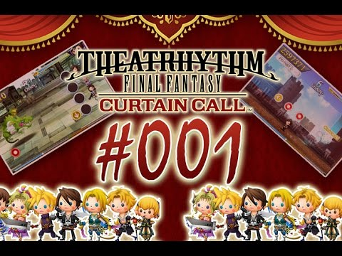 Let's Play Theatrhythm Final Fantasy Curtain Call - Nr.1 - Ein etwas anderes Osu! Training [Deutsch]