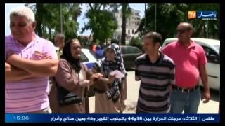 إحتجاج سكان دائرة حسين داي رفض رئيس الدائرة إستقبالهم