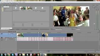 Sony Vegas Pro 13 0 Урок 5 Обрезка клипов