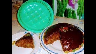 испытала форму из Фикс прайса.Торт кофейный  со сметанным ,шоколадным кремом и цукатами