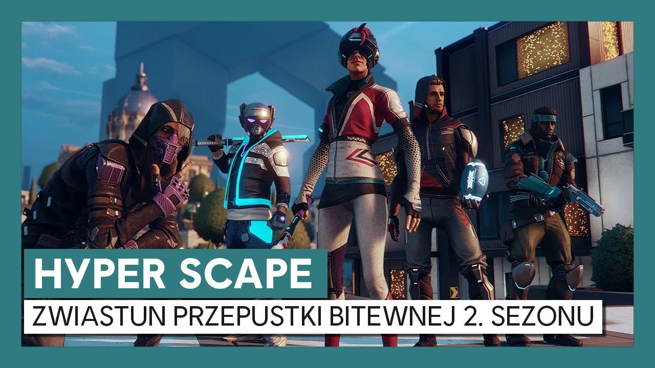 Hyper Scape: Zwiastun Przepustki Bitewnej 2. Sezonu
