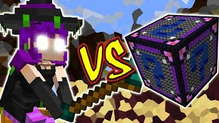 BRUXA VS. LUCKY BLOCK CHAOS (MINECRAFT LUCKY BLOCK CHALLENGE WITCH)