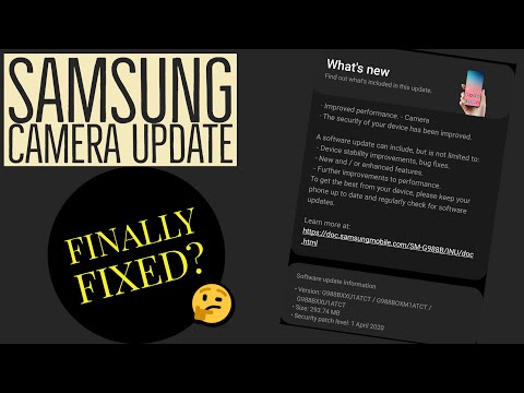 Samsung Galaxy S20 Ultra Software Update: Camera Issues Resolved? New Software update April 6th-20