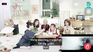 ENG SUB Girls 39 Generation Oh GG REACTION to 39 몰랐니 Lil 39 Touch 39 MV during VLive