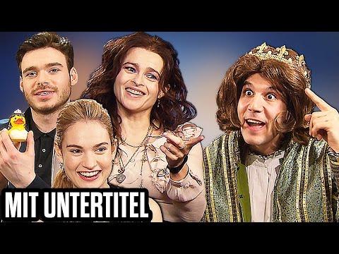 GEIL! Cinderella vs Schnösel Prinz! Richard Madden, Helena Bonham Carter, Lily James