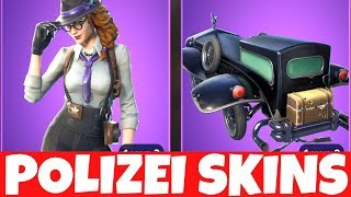 ABO ZOCKEN + POLICE DETEKTIV SKINS ARE DA !!! 🔴 Fortnite Battle Royale Live