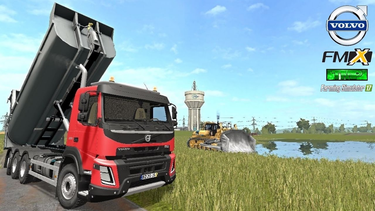 Farming simulator 17 travaux publics camion volvo fmx for Pack travaux