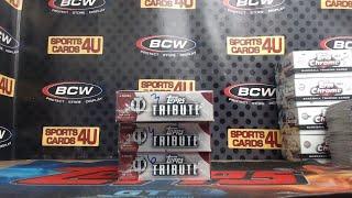 2019 Topps Tribute Baseball 3Box Half Case Team Break #8 (8-20-19)
