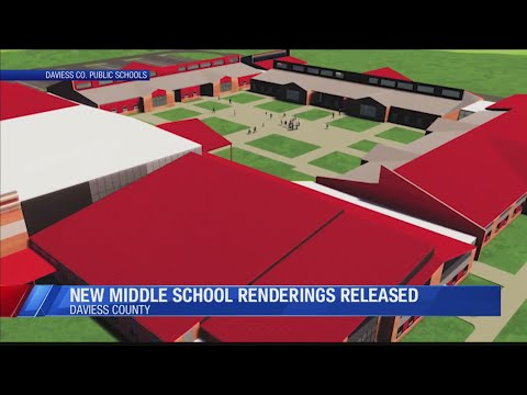 New renderings released of Daviess County Middle School