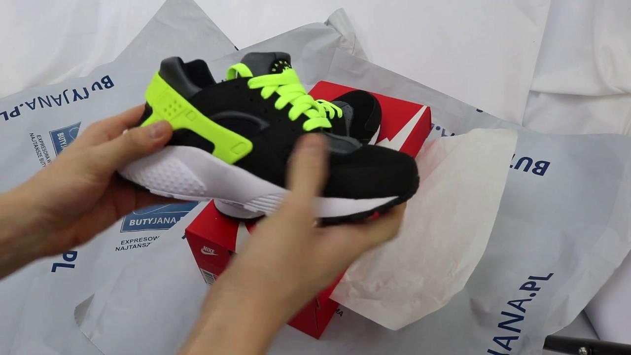 super popular 4a16c 7058a Nike Huarache Run Gs 654275-017 # Butyjana.pl - YouTube