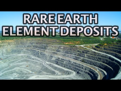 Rare Earth Mineral Deposits By Nation 2020