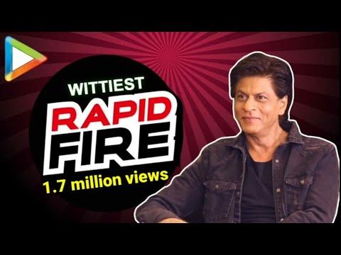 Shah Rukh Khan: 鈥淪alman-Aamir, Yaaron ke Yaar鈥� | RAPID FIRE | Zero