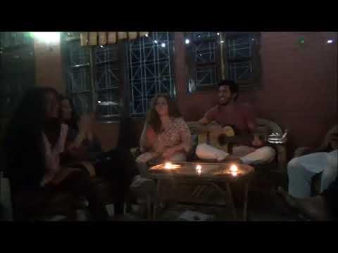Музыкальный вечер в центре Аюрведа Бхаван - 2 Марта Часть 2