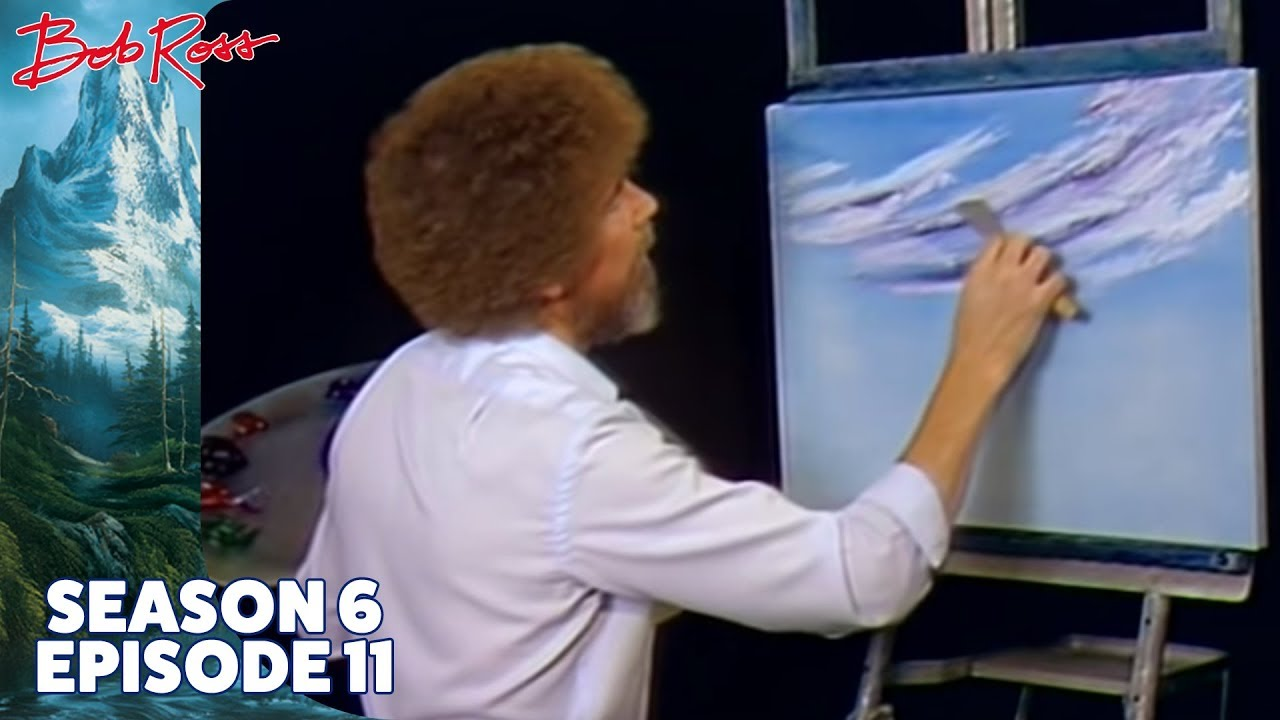 That 'Tingling Feeling' You Get From Watching Bob Ross – TwoInchBrush