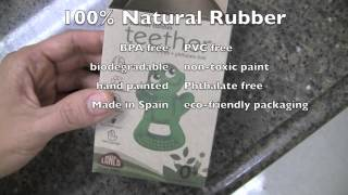 Natural Rubber Teething Toy