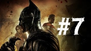 Injustice Gods Among Us Gameplay Walkthrough Part 7 - Deathstroke - Chapter 7