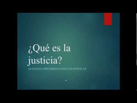 Qué es la justicia   Conferencia de Camilo Gallo