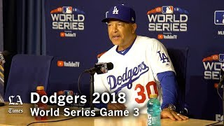 World Series 2018: Dave Roberts on what the Dodgers did right