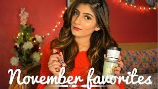 November Favorites! | Anushae Says