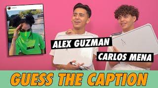 Alex Guzman vs. Carlos Mena - Guess The Caption