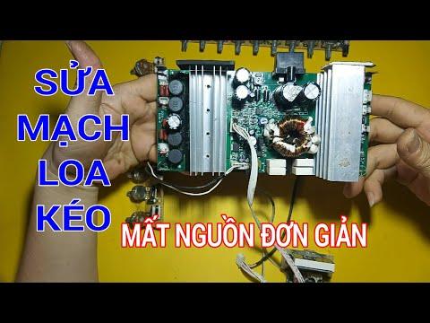 sửa mạch loa kéo mất nguồn đơn giản  I Fix the portable speaker circuit that won't power on I