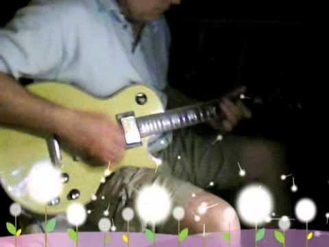 Vintage MIJ Ventura Gold Top guitar