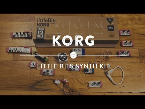 Korg Little Bits Synth Kit | Reverb Demo Video