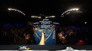 Classy Barnes blows Quezada away | Watch in 360 VR