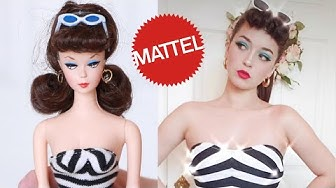 Transforming into The FIRST Barbie Doll EVER!