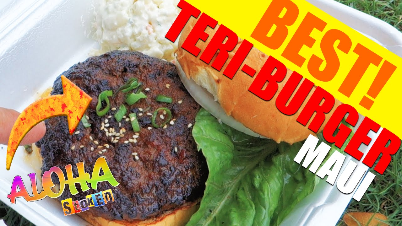 The Best Hamburger on Maui - Da Kitchen! - YouTube