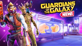 GUARDIANS OF THE GALAXY in FORTNITE