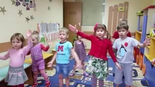 Урок английского для детей в детском саду на Позняках /Осокорках Приветствие